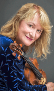 Violinist Sharyn Peterson