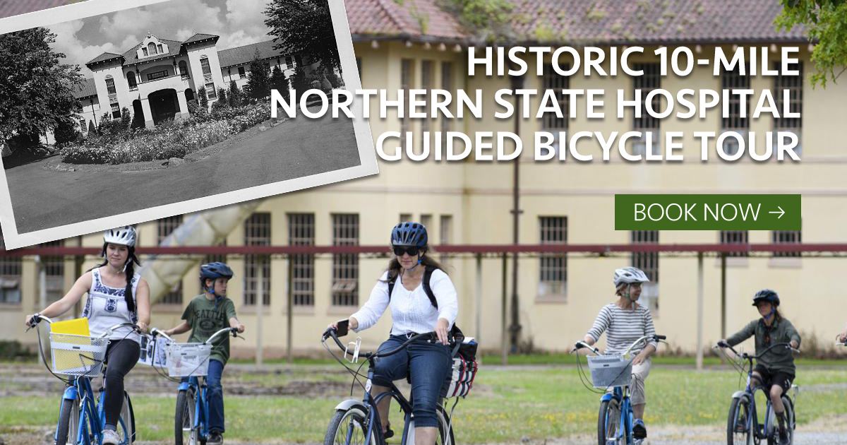 Historic 10-Mile Northern State Hospital Guided Bicycle Tour