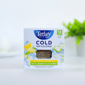 Tetley Cold Mint, Lemon and Cucumber