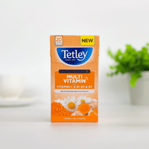 Tetley Multivitamin Turmeric and Camomile Tea