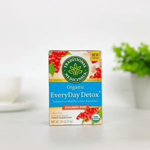 Traditional Medicinals Everyday Detox Sschisandra Berry