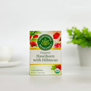 Traditional Medicinals Hawthorn and Hibiscus