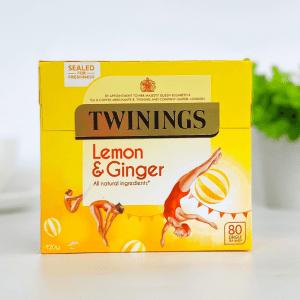 Twinings Lemon and Ginger 80s