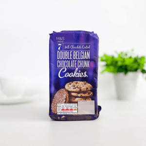 M&S Cookies Double Belgian Choc Chunk