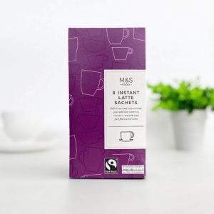 M&S Latte Sachets