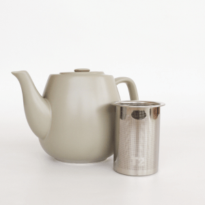 T2 Hugo Tea Pot and Infuser Grey