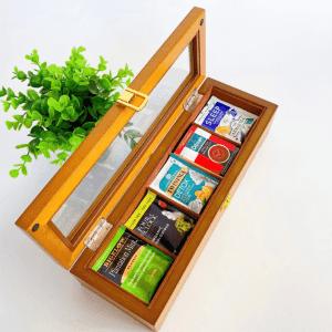 Tea Storage Box 5 partition sample