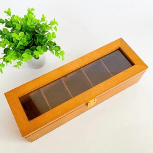 Tea Storage Box 5 partition