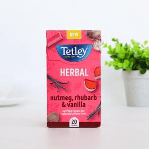 Tetley Nutmeg, Rhubarb and Vanilla Infusion