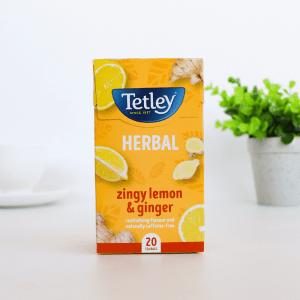 Tetley Zingy Lemon and Ginger Infusion