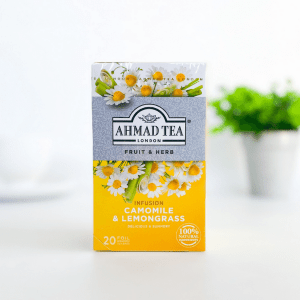 Ahmad Tea Camomile and Lemongrass Infusion