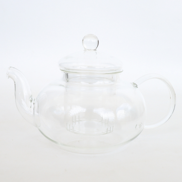 Glass teapot with glass infuser 1