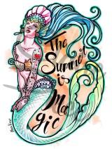 Summer Mermaid - Claire Piece
