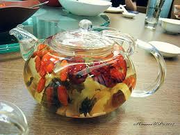 Lemon Eight Treasure Tea, Lemon Ba bao Cha, Lemon Goji Berry Tea
