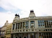 Former BBVA building in Madrid