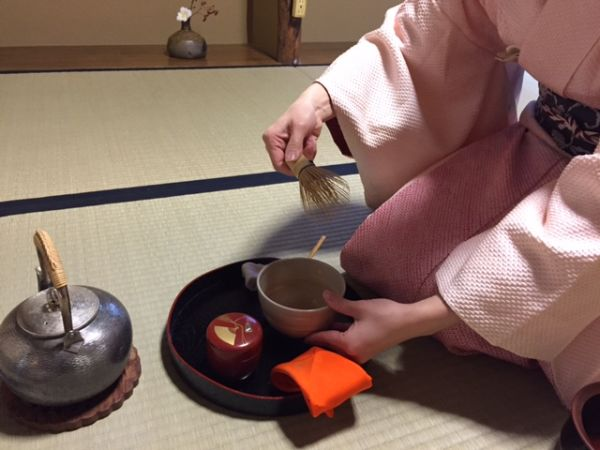 You can do Japanese tea ceremony everywhere!
