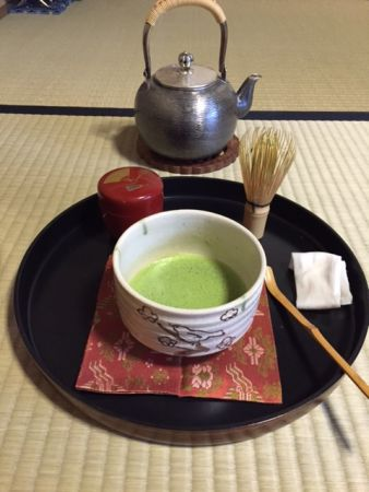 "Tea Ceremony for table and chair style ""Chitose-bon"""