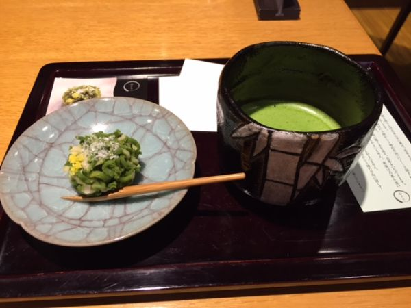 Cafés near Kyoto station where we can have Matcha tea