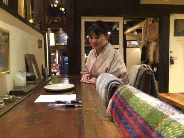 Tea Ceremony×The local artists in Kyoto collaboration