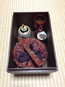 Japanese tea box
