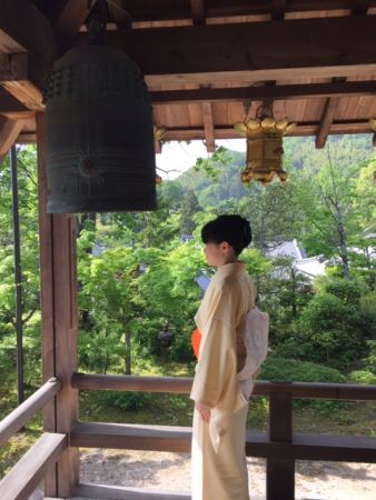 Tea Ceremony once a month at Ko-myo-ji temple in Nagaokakyo- Kyoto