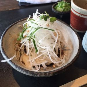 to-fu made from soba in Kyoto