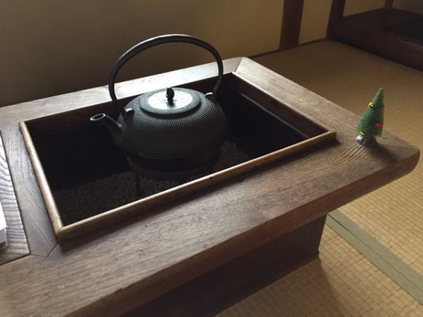 Japanese iron kettle