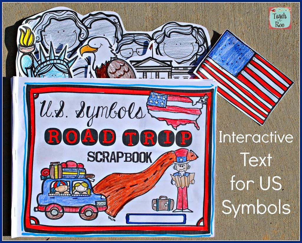 United States Symbols Road Trip Scrapbook