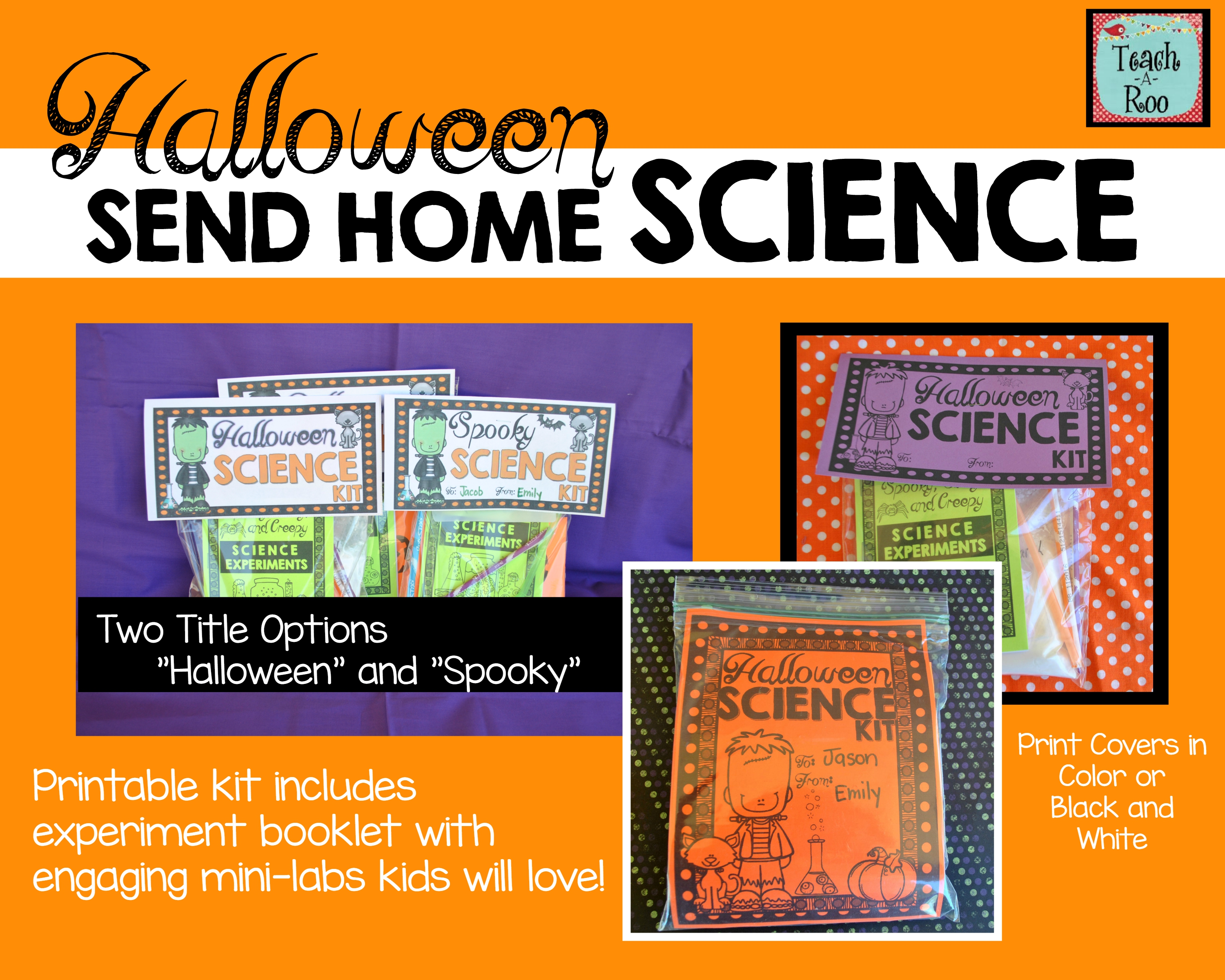 Halloween Activities Science Experiments