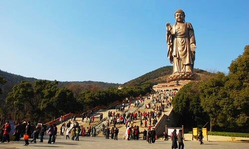Lingshan Grand Buddha in Wuxi, Jiangsu