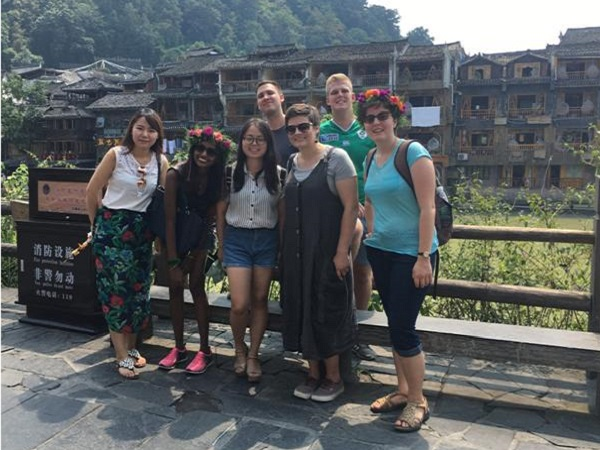 TEFL teachers enjoying their free time!