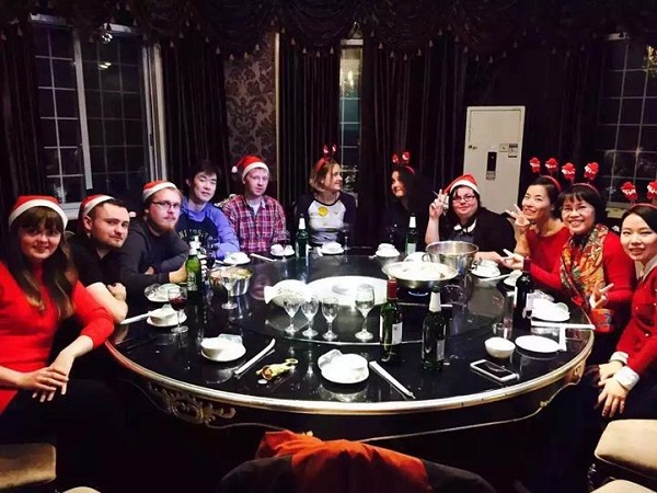 TEFL Christmas meal