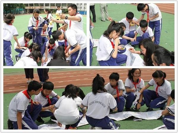 China school sports day