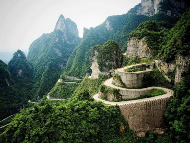 Wulingyuan Scenic Aarea