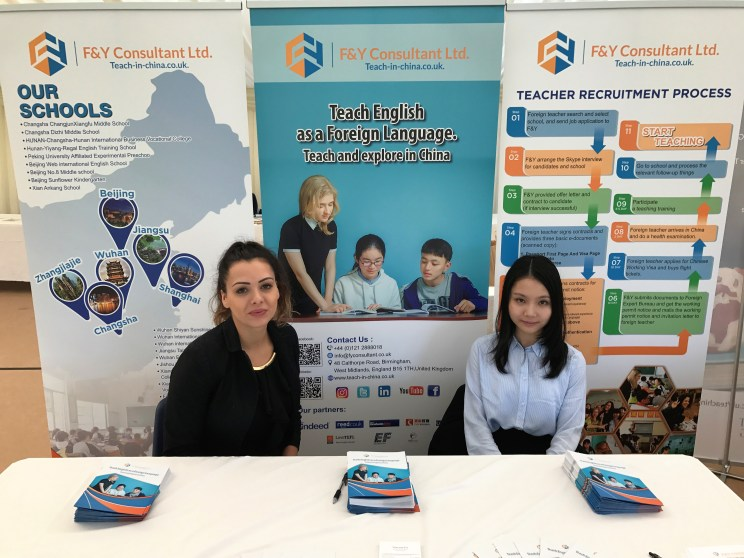 F&Y Consultant Representatives Awaiting the Students!