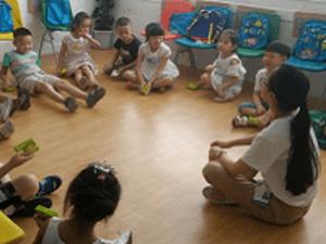 An EF School Wuhan Class