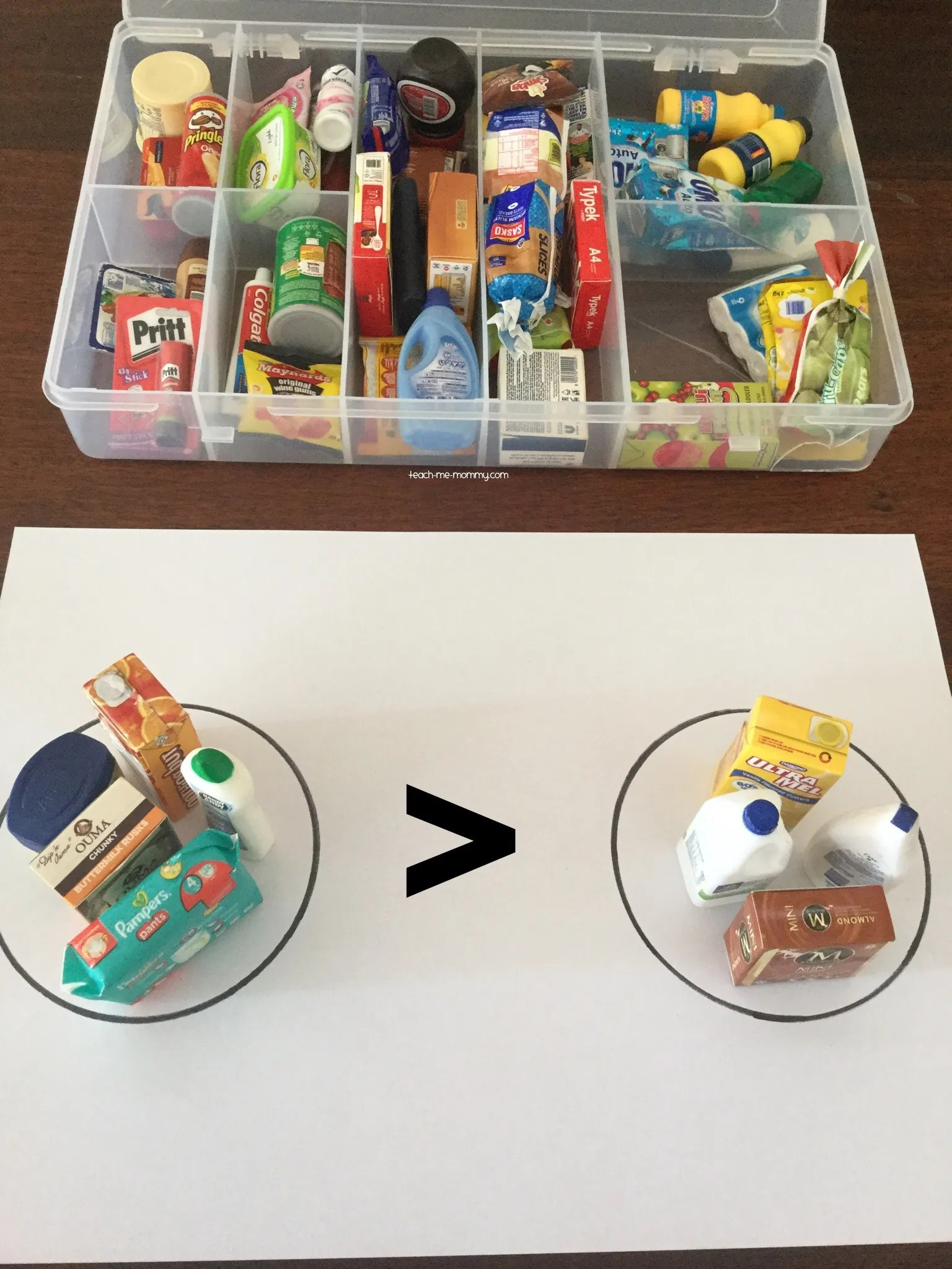 Little Shop Minis Activities