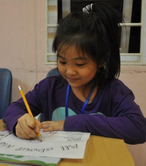 An ESL student in Vietnam