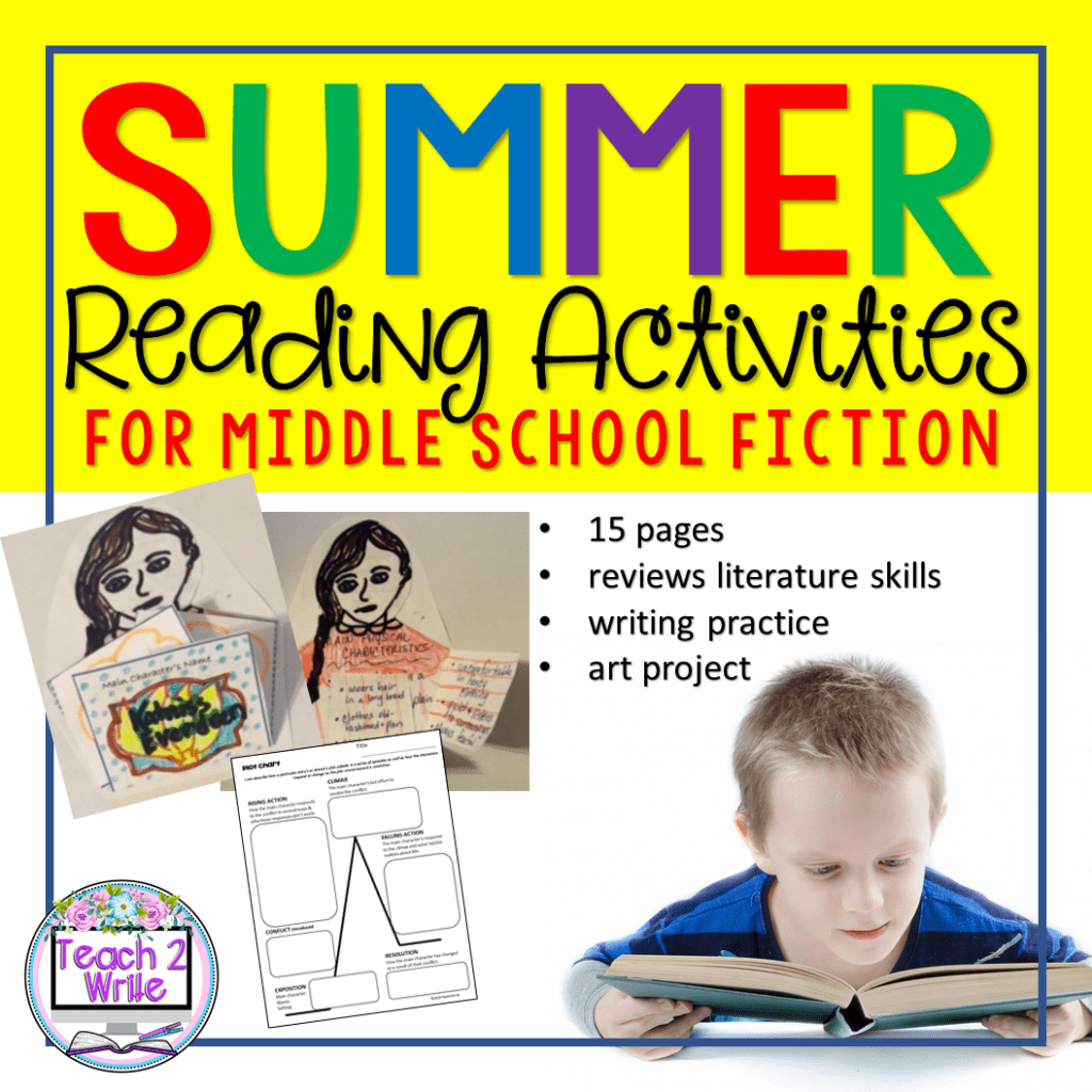 Summer Reading Activities For Your Middle Schooler