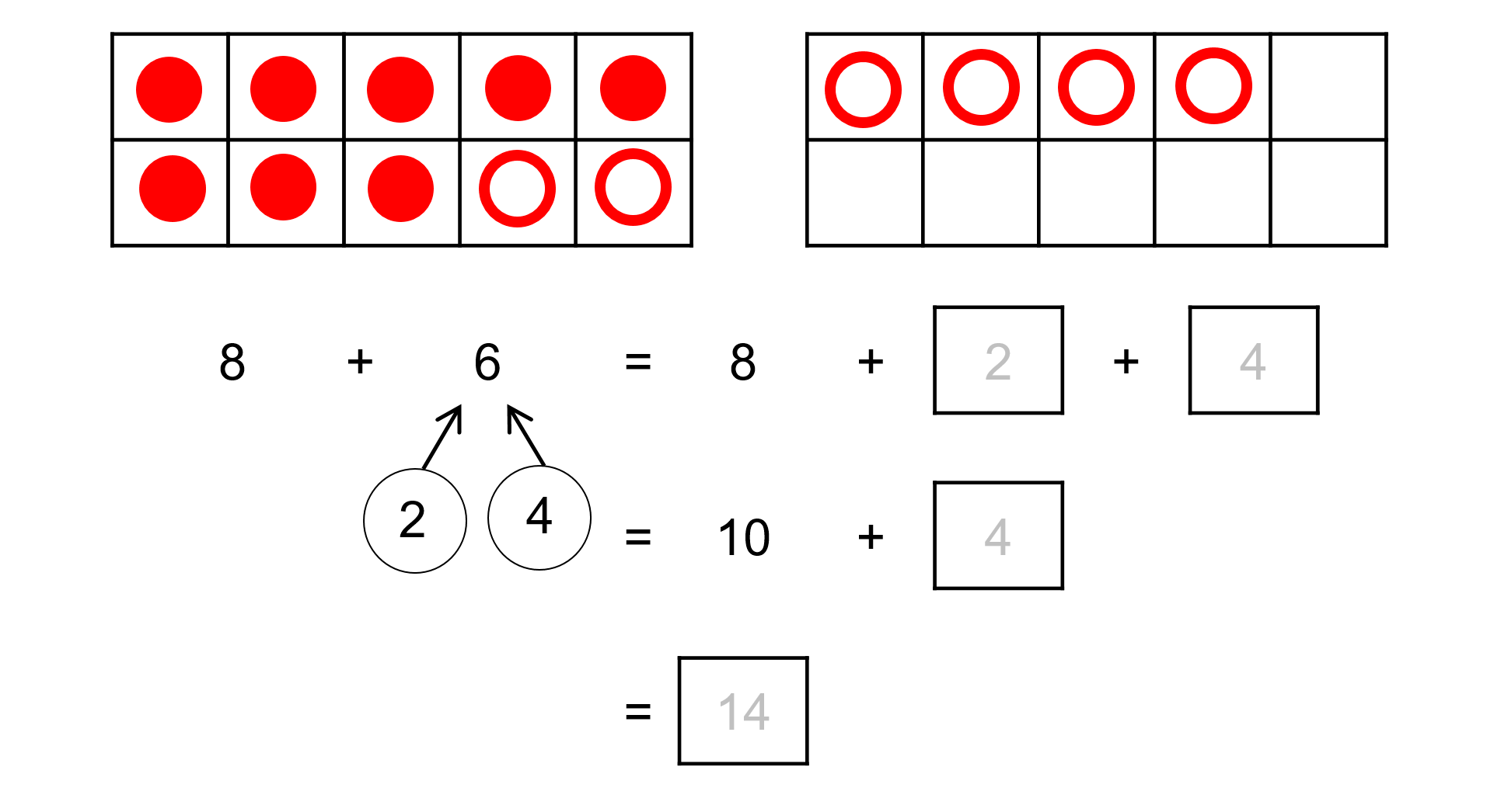 hight resolution of Ten Frames and Number Bonds - TeachableMath