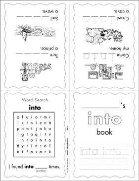 The Sight Word Into Level 3