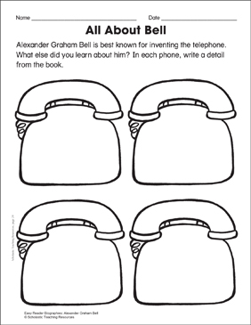 Alexander Graham Bell: Lesson Plan & Activity Page