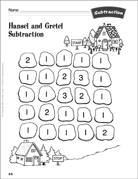 Hansel and Gretel Subtraction (subtraction paths