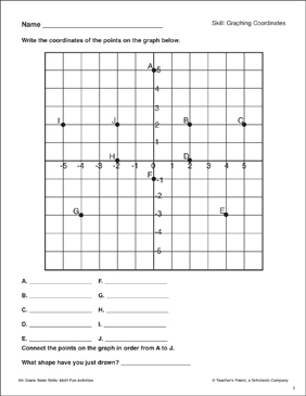 Skills Worksheet Math Skills