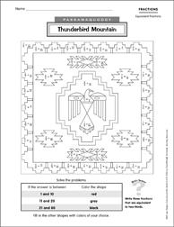 Passamaquoddy: Thunderbird Mountain (Fractions