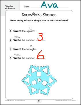 Directions With Weather : directions, weather, Weather, Seasons:, Following, Directions, Activities, Printable, Pastes,, Skills, Sheets