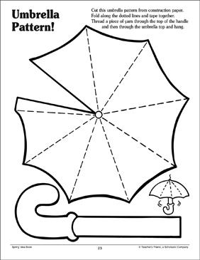 Umbrella Pattern by Karen Sevaly