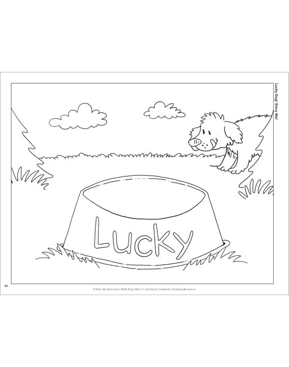 Lucky Dog! (Addition to 12): Follow-the-Directions Math