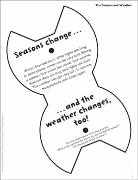 The Seasons and Weather: Interactive Science Wheel