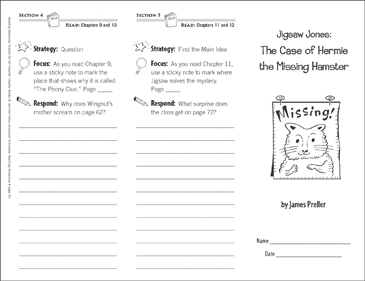 Jigsaw Jones The Case Of Hermie The Missing Hamster